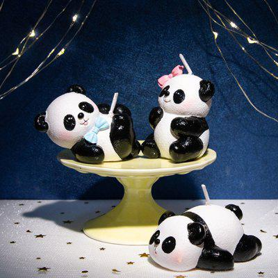Panda Home Decoration Candle