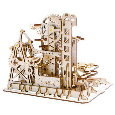 Robotime DIY Coaster Building Blocks Toy Kit