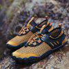 Men's Mesh Fabric Breathable Casual Shoes Durable - YELLOW