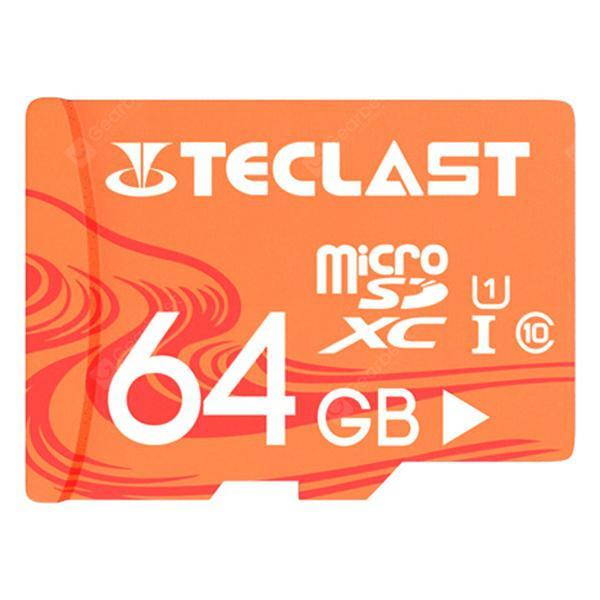 Teclast UHS-I U1 High Speed 64 GB Micro SD / TF / Memory Card with Waterproof Function