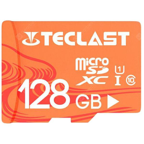 Teclast UHS-I U1 High Speed 128GB Micro SD / TF / Memory Card with Waterproof Function - Light Salmon 128GB - 13.63€