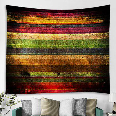 Colorful Striped Background Decorative Tapestry