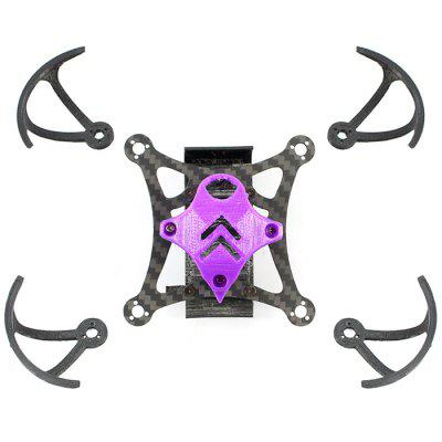 JMT 85mm Kit Quadro para Miniatura Indoor RC Drone 1102 Motor