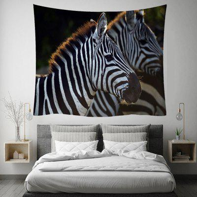 Zebra 3D Digital Printing Home Art Wall Decoration Background Tapestry