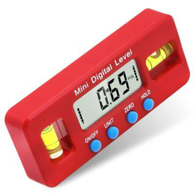 Mini Electronic Digital Display Magnetic Level Angle Gauge