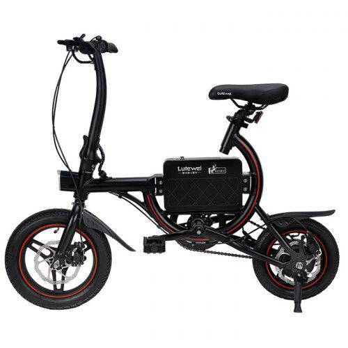 Lutewei C6 Light Electric Bicycle with Smart Sensor