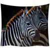 Zebra 3D Digital de imprimare Acasă Art De decorare de perete Background tapiserie - MULTI-A