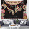 Dreamcatcher 3D Digital Printing Home Decor Tapestry - GRAPHITE BLACK