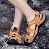 Men Fashion Outdoor Slip Sandals - GOLDEN BROWN