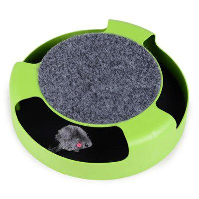 Shadowless Puzzle Mouse Puzzle Cat Toy Board