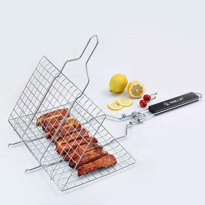 Stainless Steel Barbecue Folding Grill Net