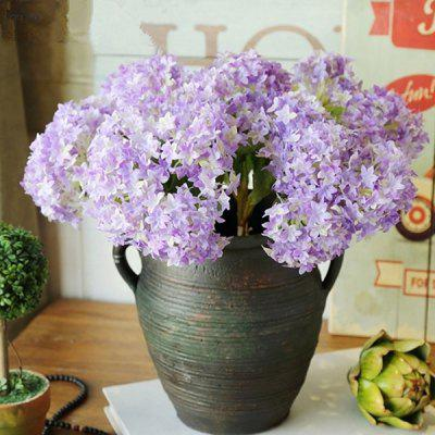 Mini Hydrangea Simple Home Art Flower 3pcs