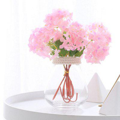 Mini Hortensia Simple Home Art Flower 3 unids