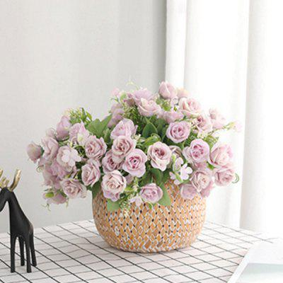 5 Branches Small Rose Bouquet Home Decoration Artificial Flower