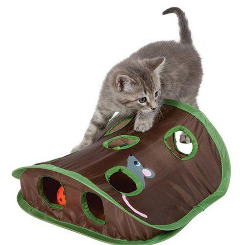 Puzzle Nine Mouse Hole Funny Cat Toy