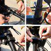 ZT270 Bicycle Lock USB Charging Wireless Remote Control Vibration Alarm - BLACK