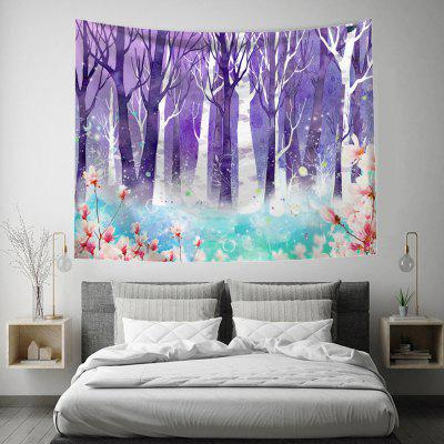 Dream Forest Tapestry 3D Digital Printing Creative Home Art wanddecoratie