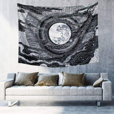 Moon Star Tapestry Wall Blanket for Living Room Bedroom Home Decor