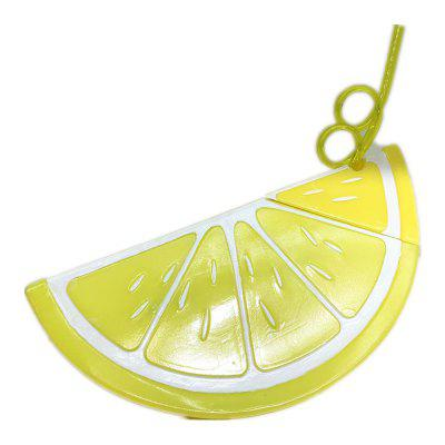 700ml Fruit Lemon Large Capacity Water Bottle