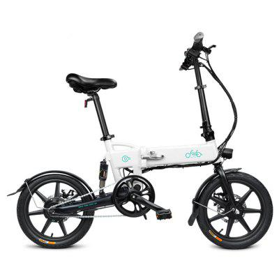 FIIDO D2 16 inch Three-step Quick Folding Electric Bike