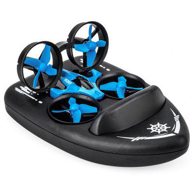 JJRC H36F RC Drone + Hovercraft Land Mode Multi-function 3-in-1 Toy