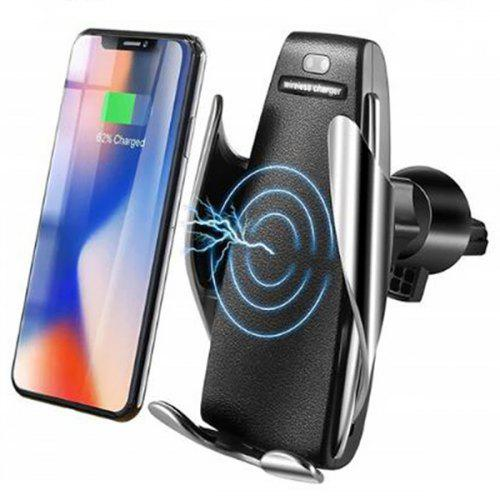 S5 Magic Clip Infrared Car Wireless Fast Charge – Silver 450437301