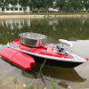 Flytec 2011 - 3 Intelligent Wireless Electric RC Fishing Bait Boat - RED