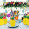 Party Decoration Straw Cup ( Straw Pattern Random ) - YELLOW