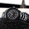 Curren 8053 Men's Durable Belt Waterproof Quartz Watch Casual Business - BLACK