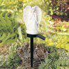 Solar Outdoor Waterproof Ground Angel Light - WHITE