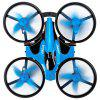 JJRC H36F RC Drone + Hovercraft Land Mode Multi-function 3-in-1 Toy - DODGER BLUE