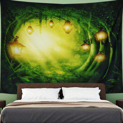 Forest Fantasy Magic Decorative Tapestry