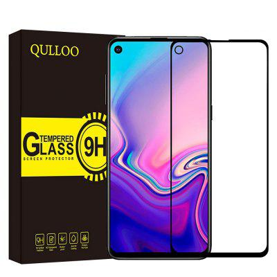 QULLOO2.5D Full Coverage Tempered Glass Protective Film for Samsung Galaxy A8S