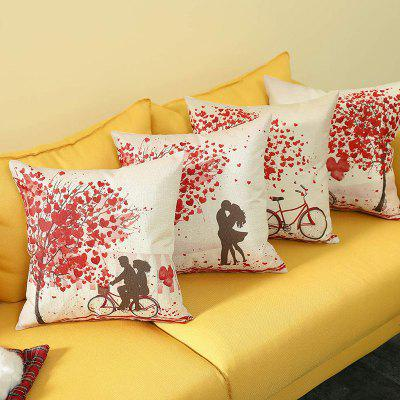 Pillowcase Cushion Cover 4PCS