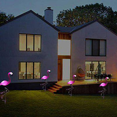 Flamingo Lawn Lamp Ground Landscape Solar Light