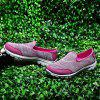 Women's Fashion Breathable Slip-on Casual Shoes Durable - ROSE RED