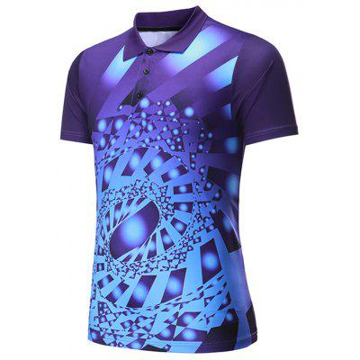 Men's T-shirt Quick-drying Competition Sports Short-sleeved Printing