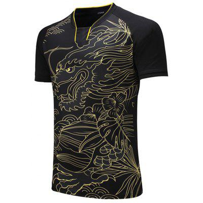 Men's T-shirt Short-sleeved Breathable Quick-drying Competition Sportswear
