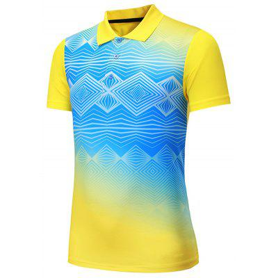 Men's T-shirt Sports Short-sleeved Breathable Quick-drying Moisture Wicking