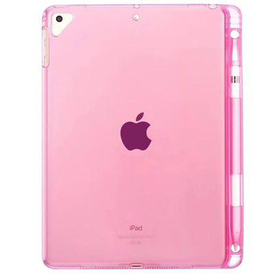 Transparent Tablet Case with Pen Slot for iPad Series