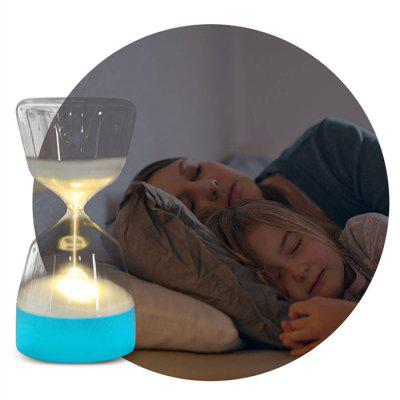 Timing Hourglass Dormir Luz Presente