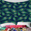 Home Decoration Home Print Tapestry - CIEMNY LAS ZIELONY