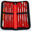 Kit de Instrumento Dental Versátil de Acero Inoxidable de 10 Piezas - MULTICOLOR-A
