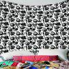 Interior Fashion Wall Decoration Tapestry - BLACK