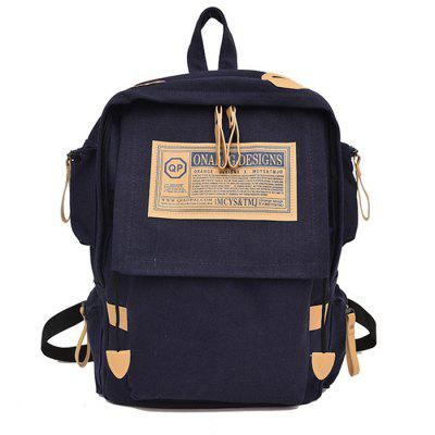 H29 Vintage Casual Outdoor Canvas Backpack Leisure Travel Bag