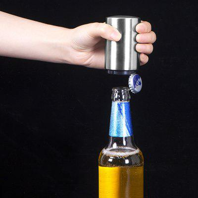 Magnet Cylindrical Beer Bottle Opener