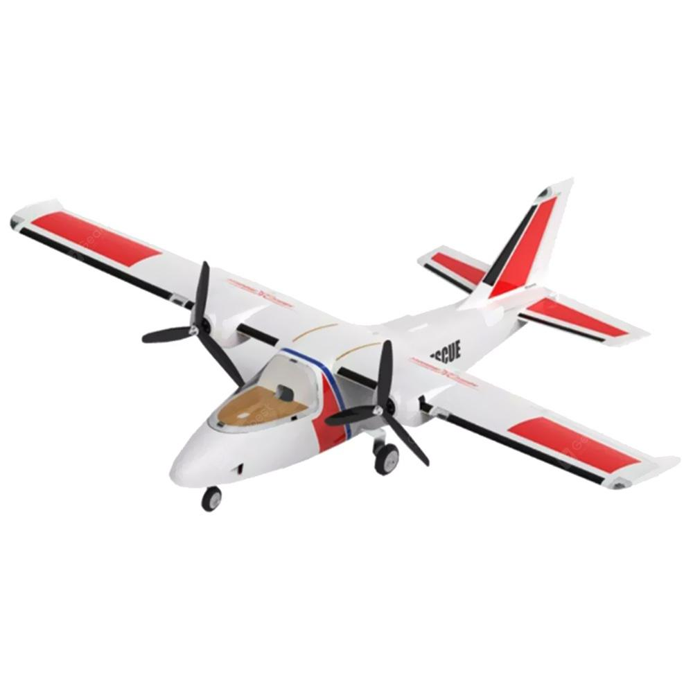 SONICMODELL Binary 1200mm Wingspan EPO RC Airplane PNP - White