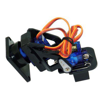 Miniature Plastic FPV 2-axis Steering Gear Gimbal for RC Models