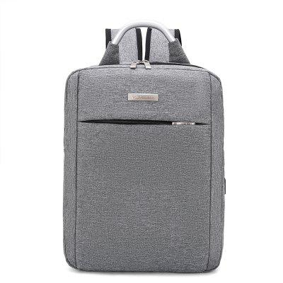 xyz1810 Men's Computer Bag Large Capacity Backpack with USB Charging Hole
