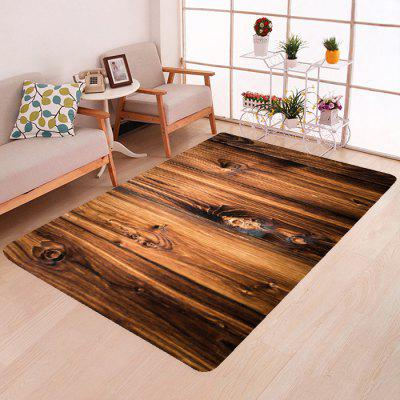 Home 3D Wood Grain Floor Mat Carpet